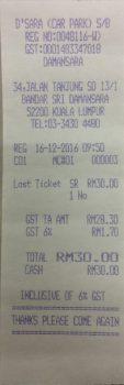 Lost Ticket